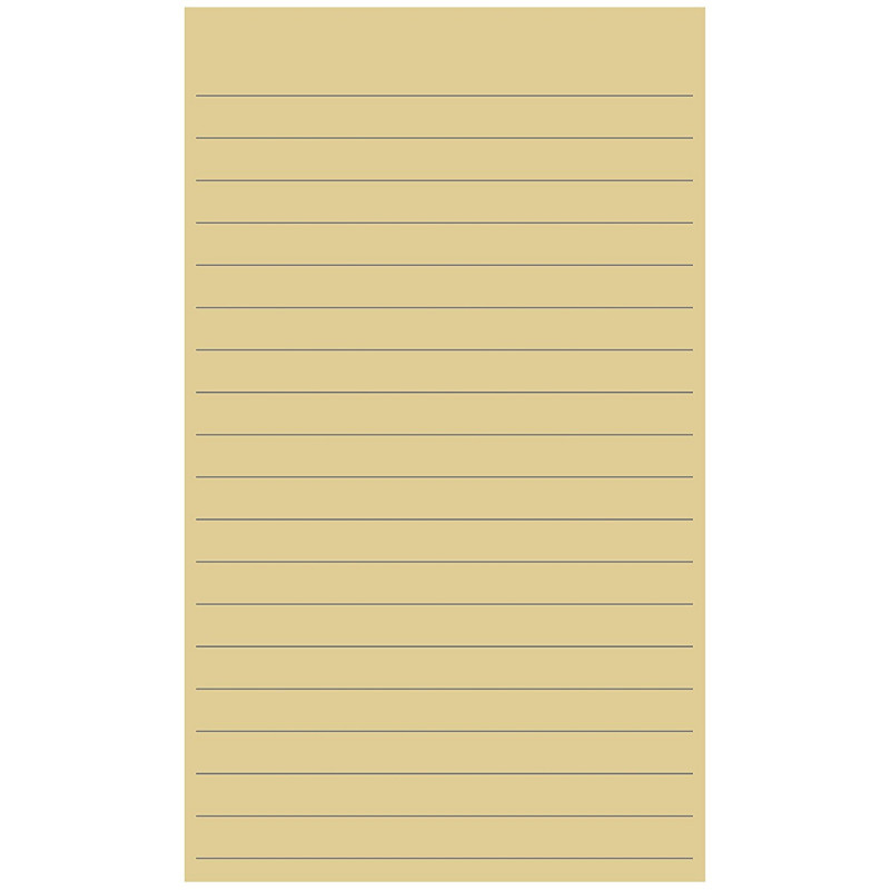 Fresh 3X5 Blank Index Card Template