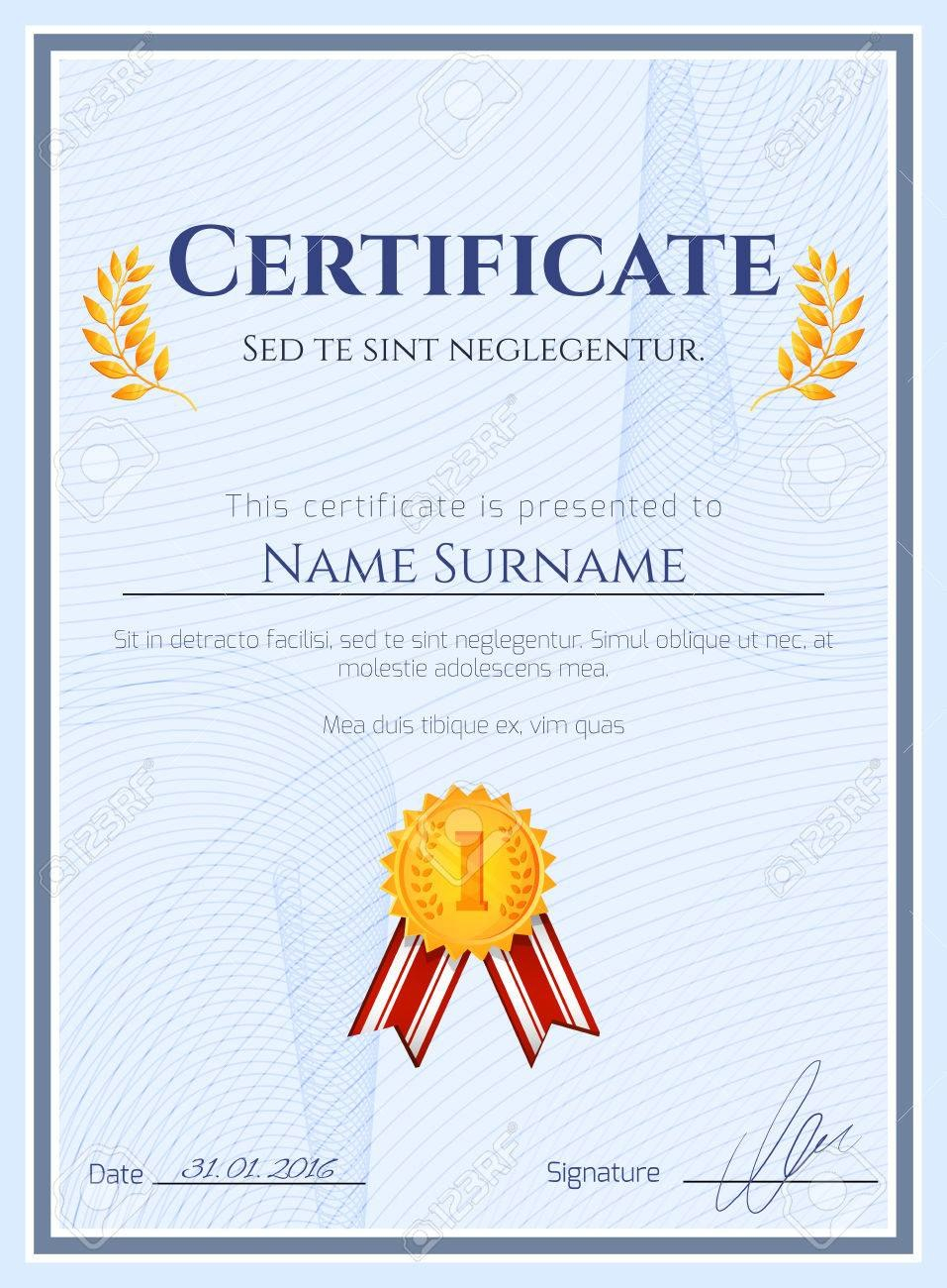 Best 10 Certificate Of Championship Template Designs Free