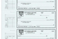Fantastic Blank Business Check Template