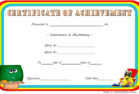 Fascinating 10 Certificate Of Championship Template Designs Free