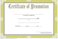 Free 5Th Grade Graduation Certificate Template