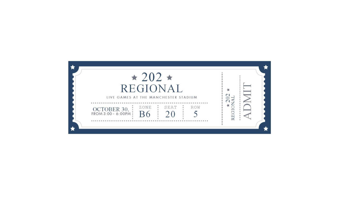 Free Blank Admission Ticket Template