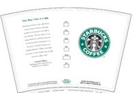 Free Starbucks Create Your Own Tumbler Blank Template