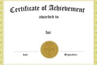 Fresh 5Th Grade Graduation Certificate Template