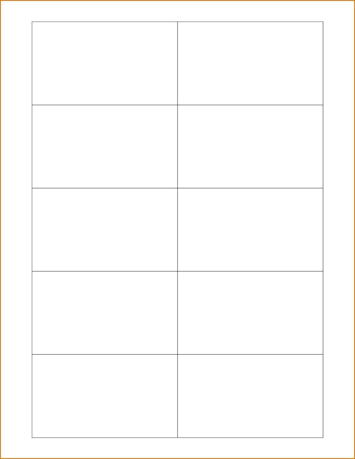 Best Blank Business Card Template Psd