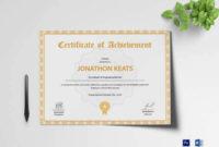 Professional Badminton Achievement Certificate Templates