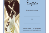 Professional Marriage Counseling Certificate Template