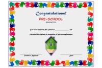 Stunning Kindergarten Certificate Of Completion Free