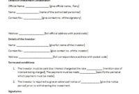 Amazing Asset Management Agreement Template