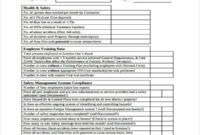 Amazing Facilities Management Monthly Report Template