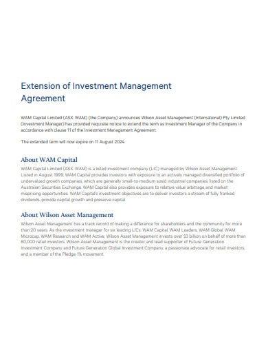 Best Asset Management Agreement Template
