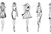 Best Blank Model Sketch Template
