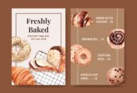 Fantastic Free Bakery Menu Templates Download