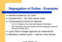 Fantastic Separation Of Duties Policy Template
