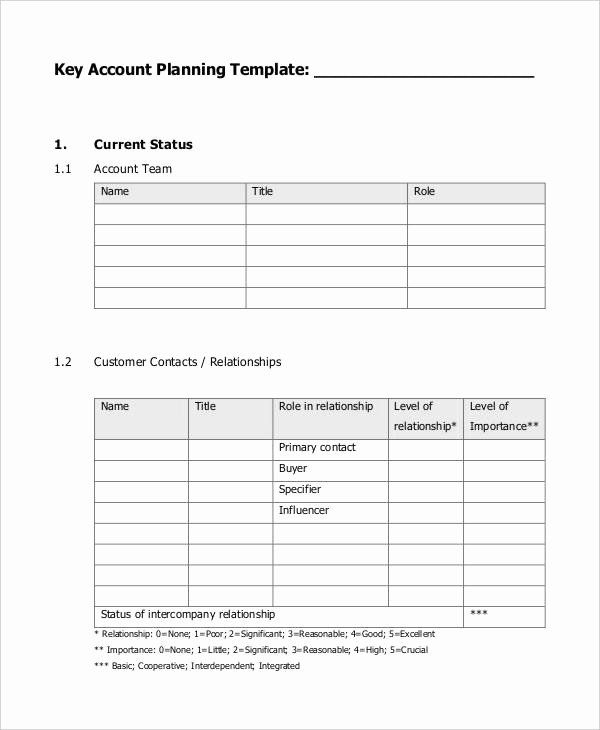 Stunning Account Management Policy Template