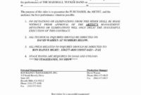 Fascinating Artist Management Contracts Template