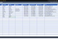 Free Customer Management Spreadsheet Template