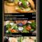 Fresh Digital Menu Templates Free