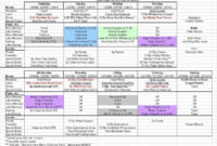 New Group Travel Itinerary Template