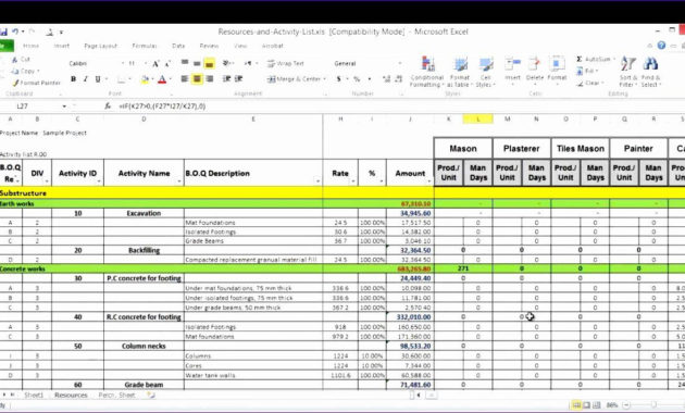 Professional Capacity Management Plan Template