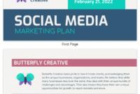 Professional Social Media Management Proposal Template