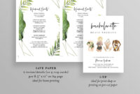 Simple Bachelorette Weekend Itinerary Template