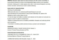 Simple Physical Therapy Policy And Procedure Manual Template
