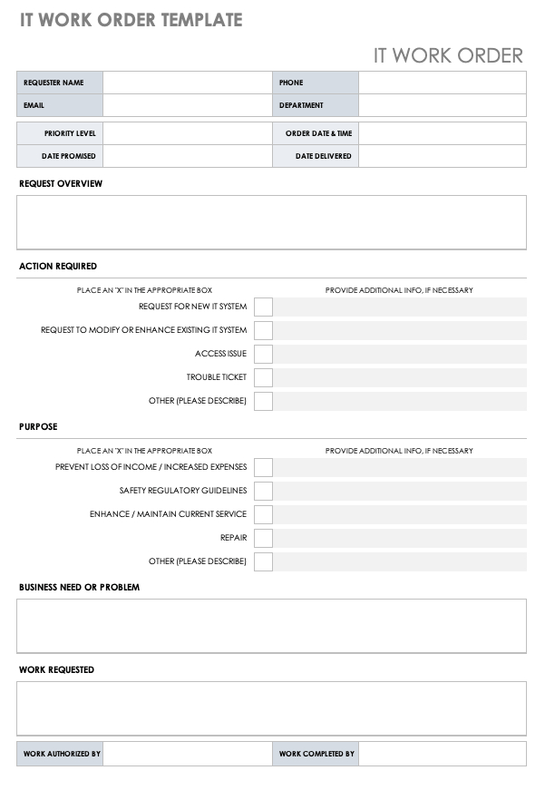 Stunning Facility Management Report Template