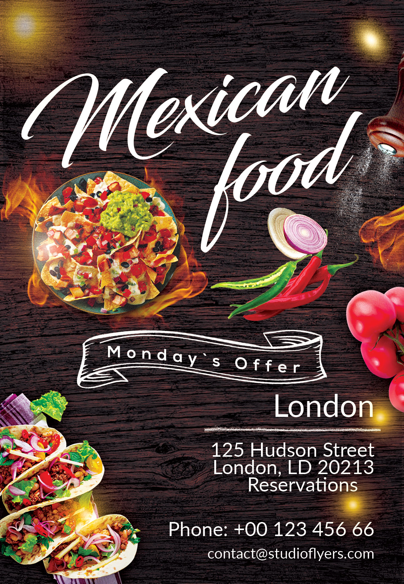 Top Mexican Menu Template Free Download